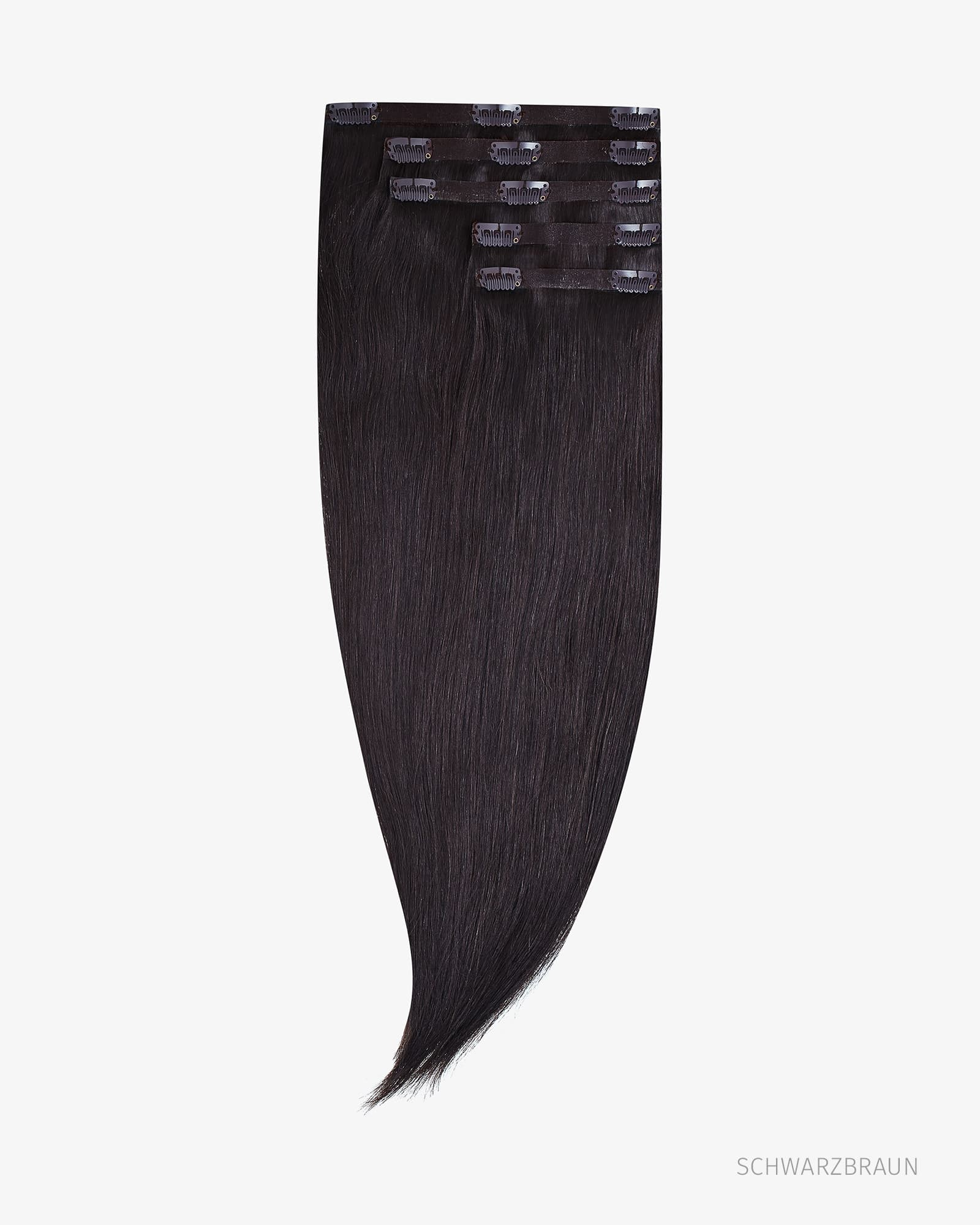 """Clip In Human Hair Extensions 18"""" 140g"""