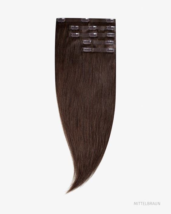 Nahtlose Clip In Extensions 55 cm 220g